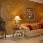 Decora Cement - Microcement Specialists - Golden Glaze